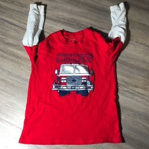 Carter's Chief fireman's Long sleeve